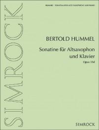 Hummel: Sonatina for Alto Saxophone and Piano, Op. 35d