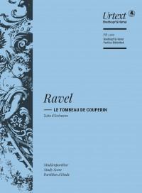 Ravel: Le Tombeau de Couperin (Study Score)