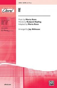 Marta Keen/Rudyard Kipling: If SATB