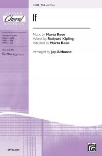 Marta Keen/Rudyard Kipling: If SSA