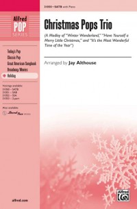 Christmas Pops Trio (A Medley) SATB