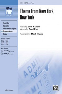 John Kander: Theme from New York, New York SAB