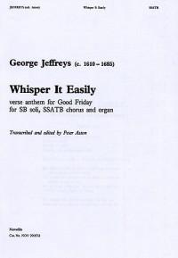 George Jeffreys: Whisper It Easily