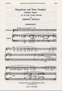Herbert Howells: Magnificat And Nunc Dimittis (Collegium Regale)