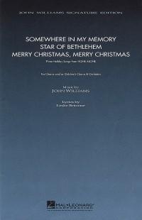 John Williams: Three Holiday Songs from Home Alone (SATB)