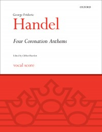 Handel: Four Coronation Anthems