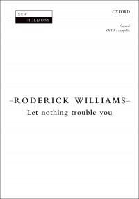 Williams: Let nothing trouble you
