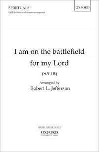 Jefferson: I am on the battlefield for my Lord