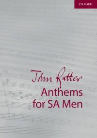 Rutter: John Rutter Anthems for SA and Men