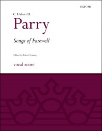 Parry: Songs of Farewell (Vocal Score)