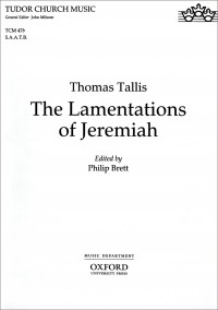 Tallis: The Lamentations of Jeremiah
