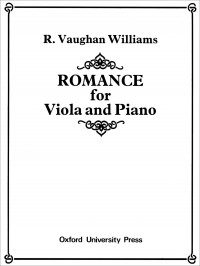 Vaughan Williams: Romance for Viola and Piano