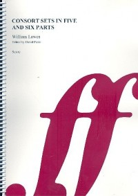 William Lawes: Consort Sets in Five & Six Parts (Score)
