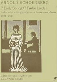 Arnold Schoenberg: Seven Early Songs