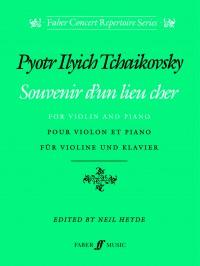 Souvenir d'un lieu cher (violin & piano)