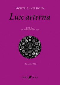 Morten Lauridsen: Lux Aeterna (Vocal Score)