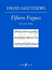 Fifteen Fugues for solo violin