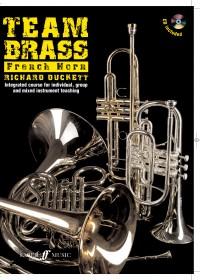 Team Brass: French Horn (Book/Cd)