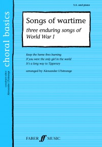 World War One Songs. SA accompanied