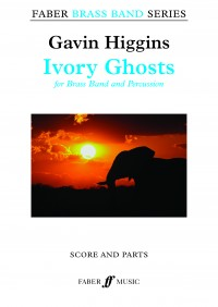Ivory Ghosts (brass band score & parts)