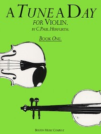 Paul Herfurth: A Tune A Day For Violin Book One