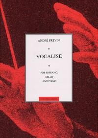 Andre Previn: Vocalise For Soprano, Cello And Piano