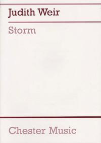 Judith Weir: Storm (Full Score)