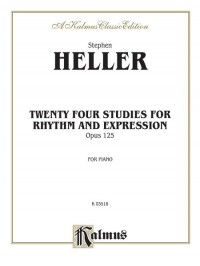Stephen Heller: Twenty-four Piano Studies for Rhythm and Expression, Op. 125
