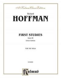 Richard Hofmann: First Studies, Op. 86