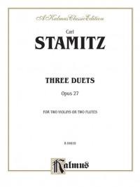 Johann Stamitz: Three Duets, Op. 27