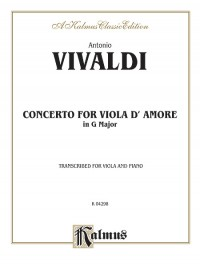 Antonio Vivaldi: Concerto for Viola d'Amore