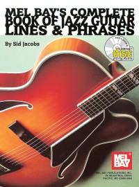 Sid Jacobs: Complete Book of Jazz Guitar Lines & Phrases