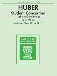 Adolf Huber: Student Concertino In G Major