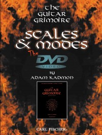 Adam Kadmon: The Guitar Grimoire: Scales and Modes, The DVD