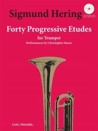 Sigmund Hering: 40 Progressive Etudes