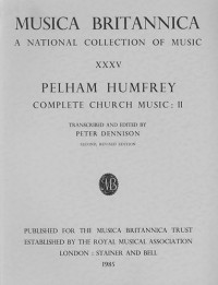 Humfrey: Complete Church Music II