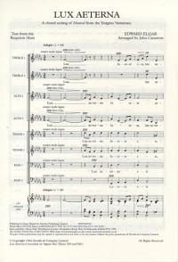 Edward Elgar: Lux Aeterna