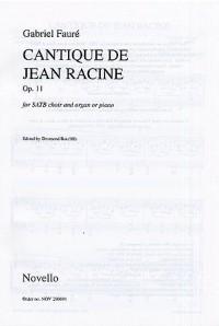 Gabriel Faure: Cantique De Jean Racine Op.11