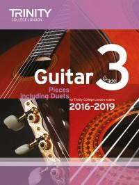 Trinity College London: Guitar Exam Pieces Grade 3 2016-2019