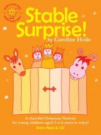 Stable Surprise Christmas Nativity Book & CD