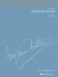 Britten, B: Collected Songs