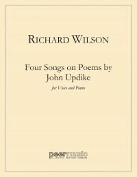 Richard Wilson: Four Songs on Poems of John Updike