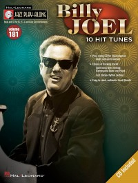 Jazz Play-Along: Volume 181 - Billy Joel (All Instruments) Book/CD