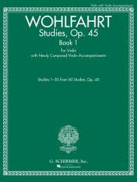 Franz Wohlfahrt: Studies, Op. 45 - Book I