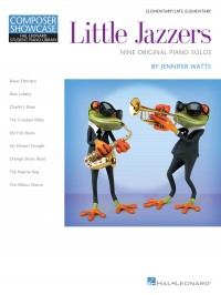 Jennifer Watts: Little Jazzers - Nine Original Piano Solos