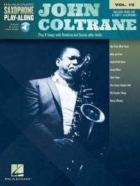 Saxophone Play-Along Volume 10: John Coltrane (Book/Online Audio)