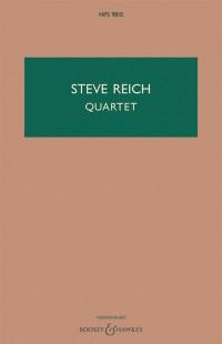 Steve Reich: Quartet for 2 pianos and 2 vibraphones