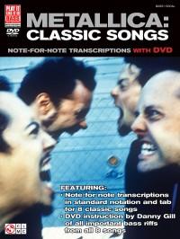 Metallica Classic Songs For Bass Guitar Bgtr Bk/Dvd
