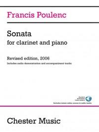 Francis Poulenc: Sonata For Clarinet And Piano