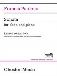 Francis Poulenc: Sonata For Oboe And Piano (Audio Edition)